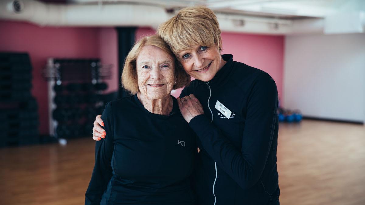 Reidun på 88 kan ikke tenke seg et liv uten trening