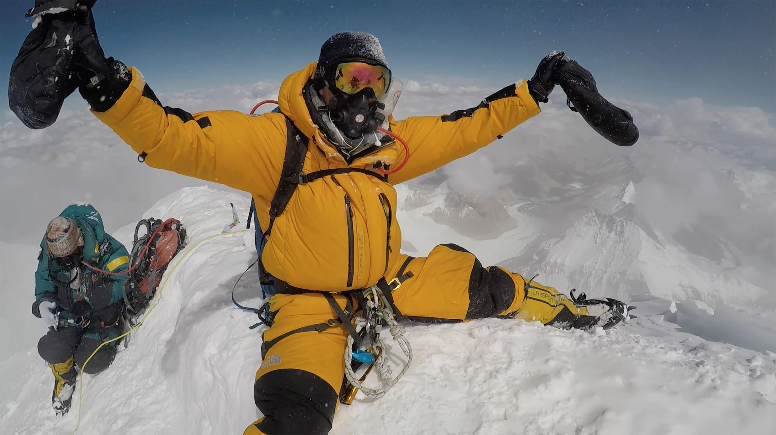 Torkjel ble tidenes yngste nordmann på Everest