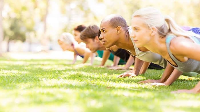 Bruk kroppen som treningsapparat