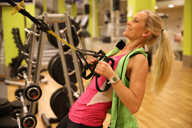 Prøv TRX - trening med egen kropssvekt
