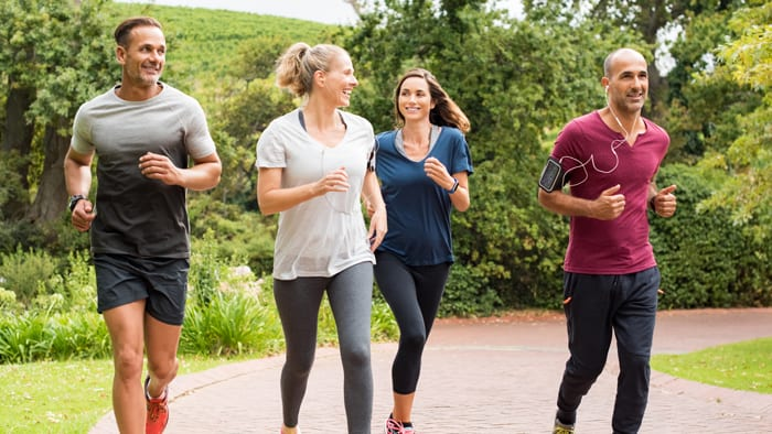 Test å løpe progressivt