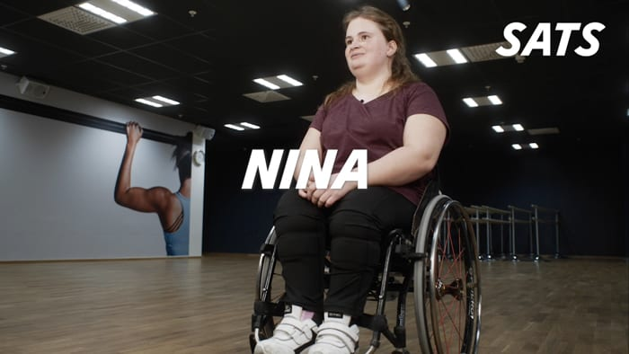 Nina ser bara möjligheter