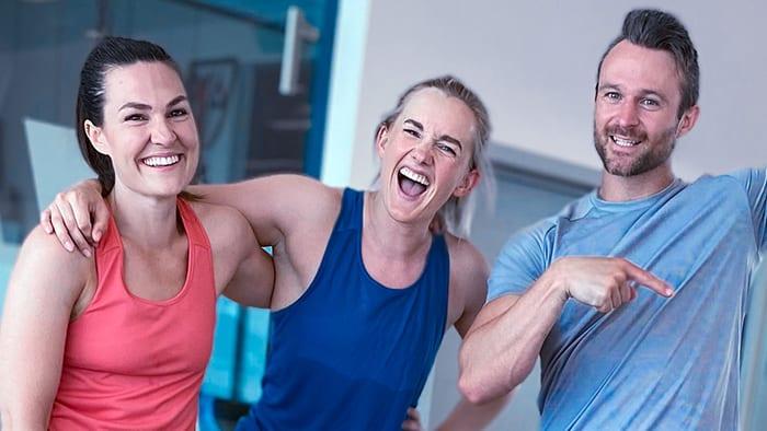 Det är svårt att hitta någon som inte blir glad av träning