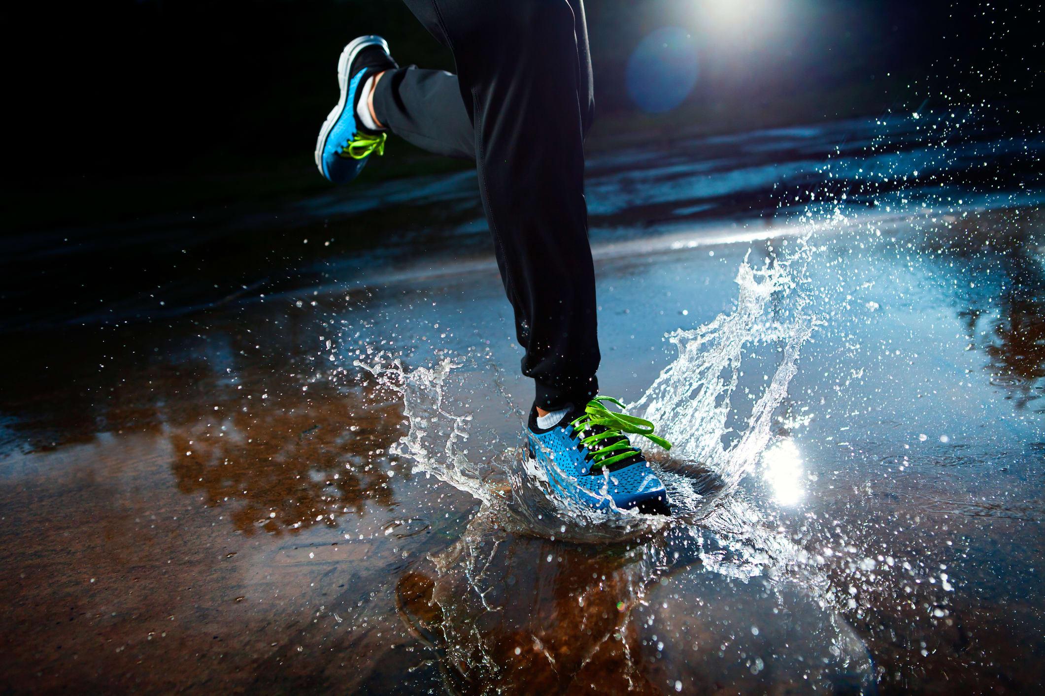 6 tips för löpning i regn