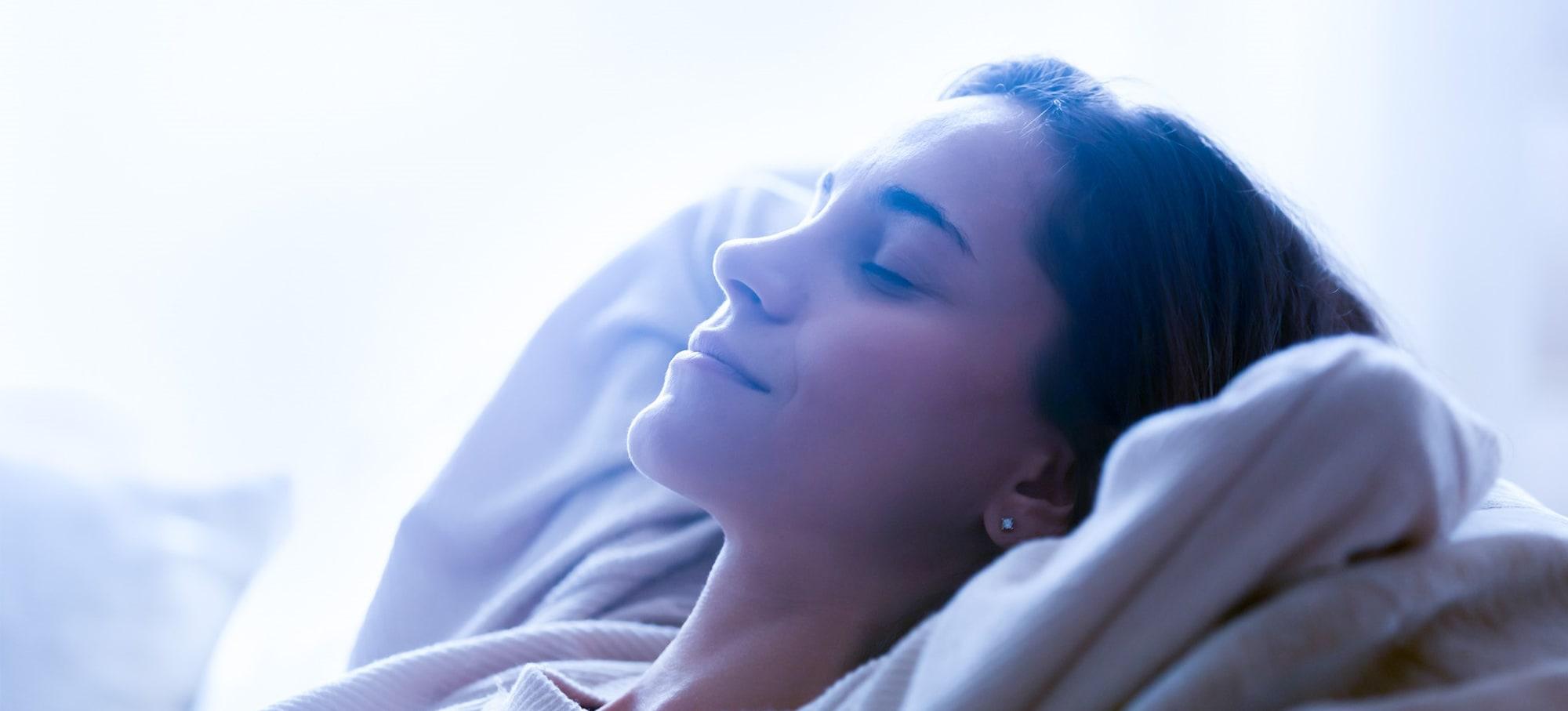 Stressa ner och sov bättre med yoga