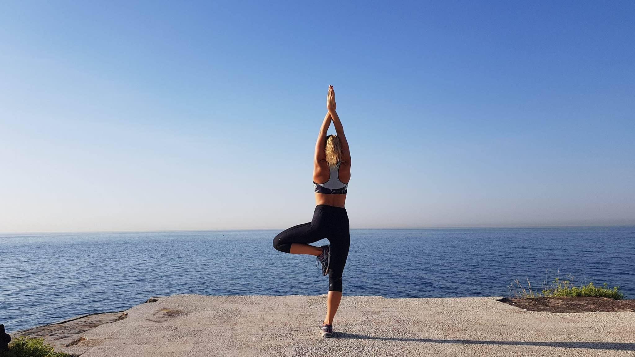 Börja yoga i höst