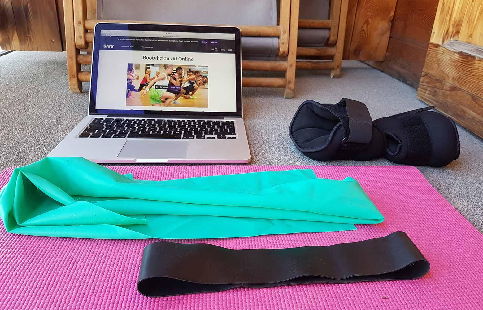 Online-träning i sommar!