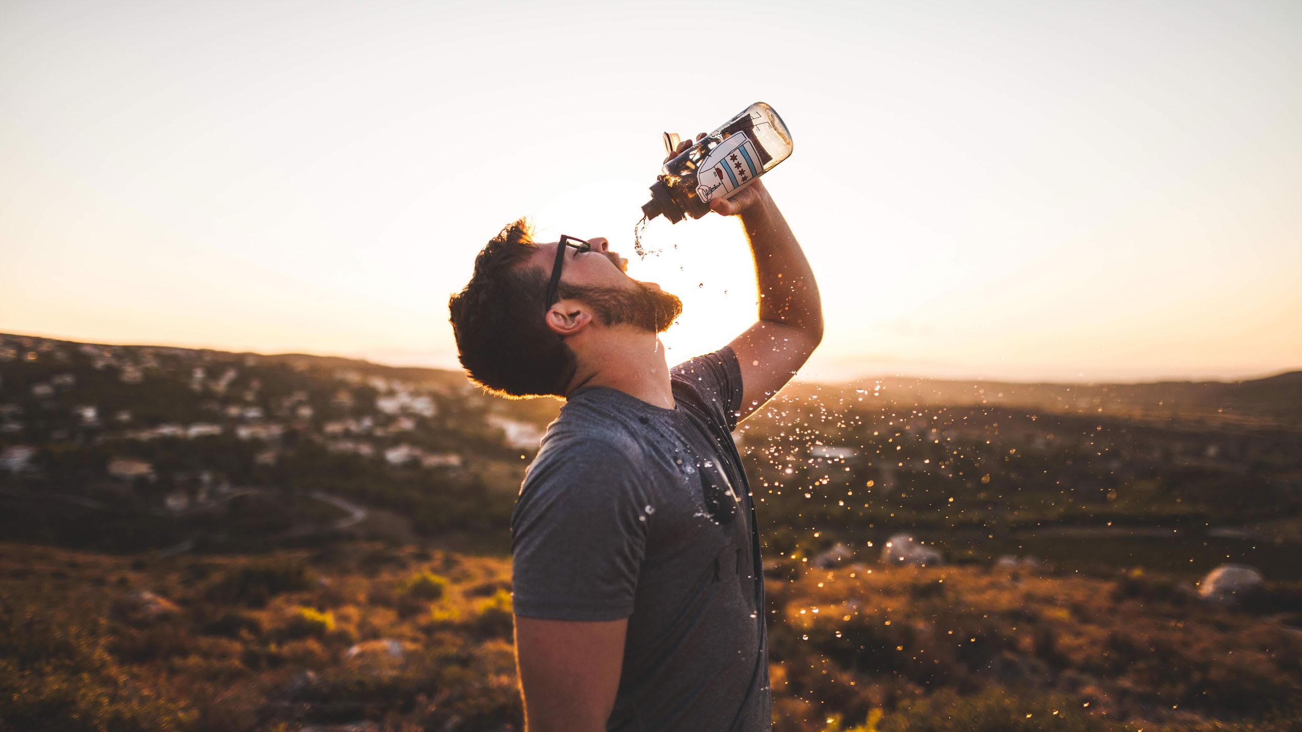 Vatten eller sportdryck?