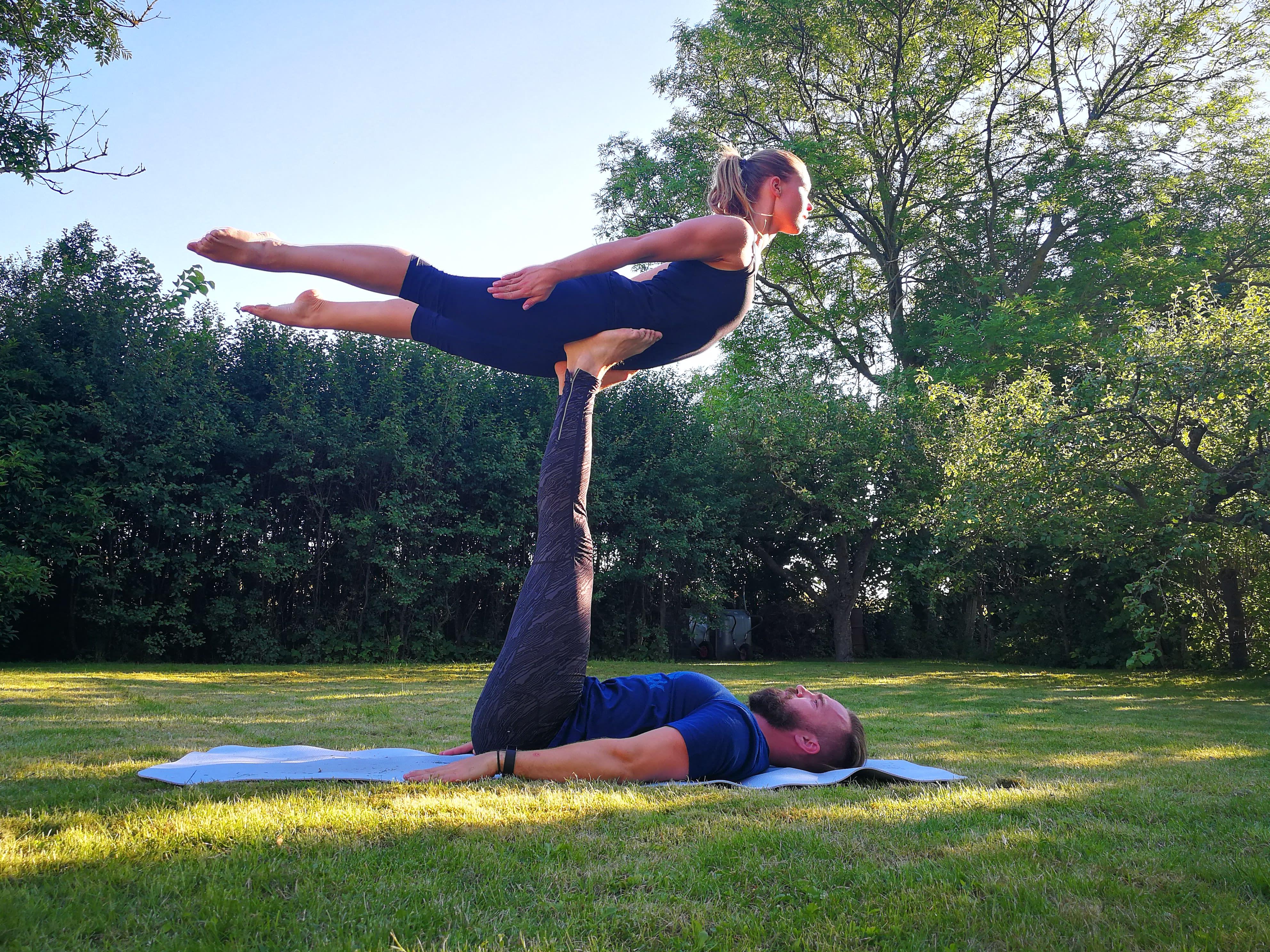 Yoga för två