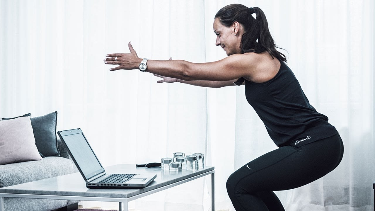 Så hinner hon träna: SATS Online Training