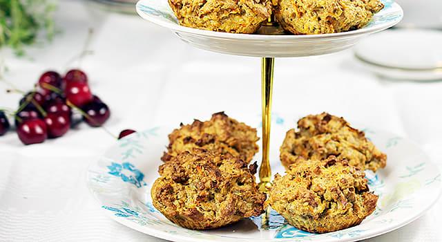 Proteinbröd med nötter och morot