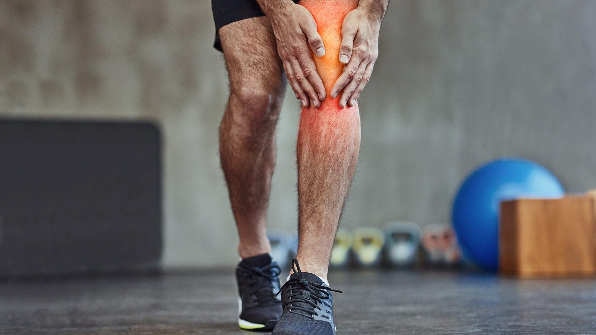 Vanliga knäskador på gymmet