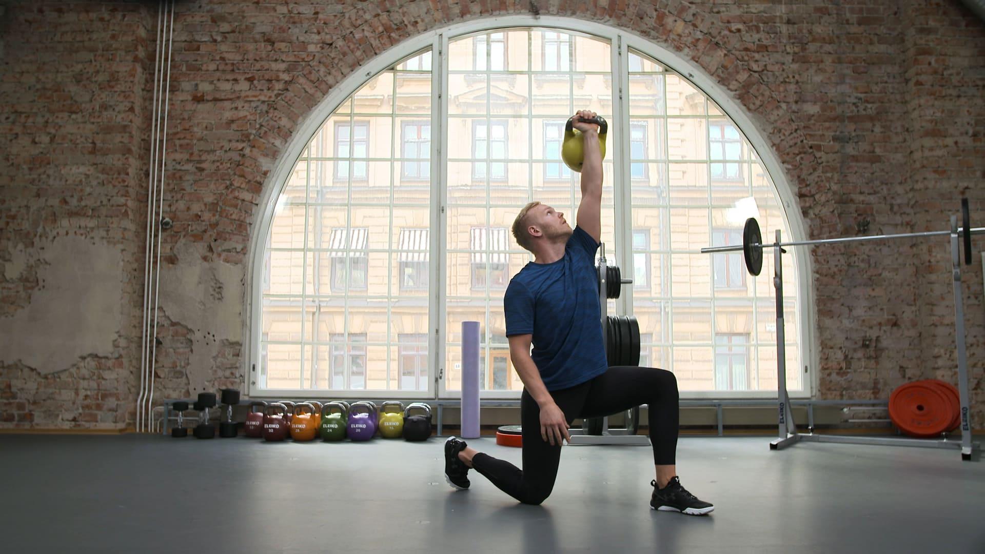 Träningsprogram: Kettlebells