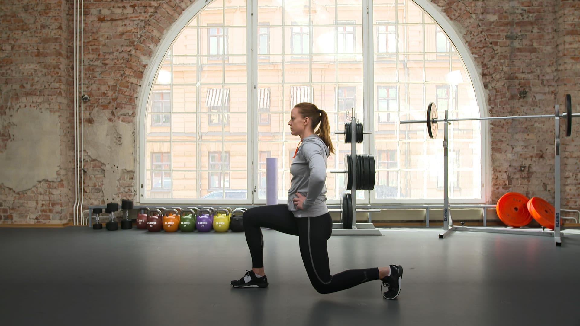 Träningsprogram: Styrke helkropp, utan vikter