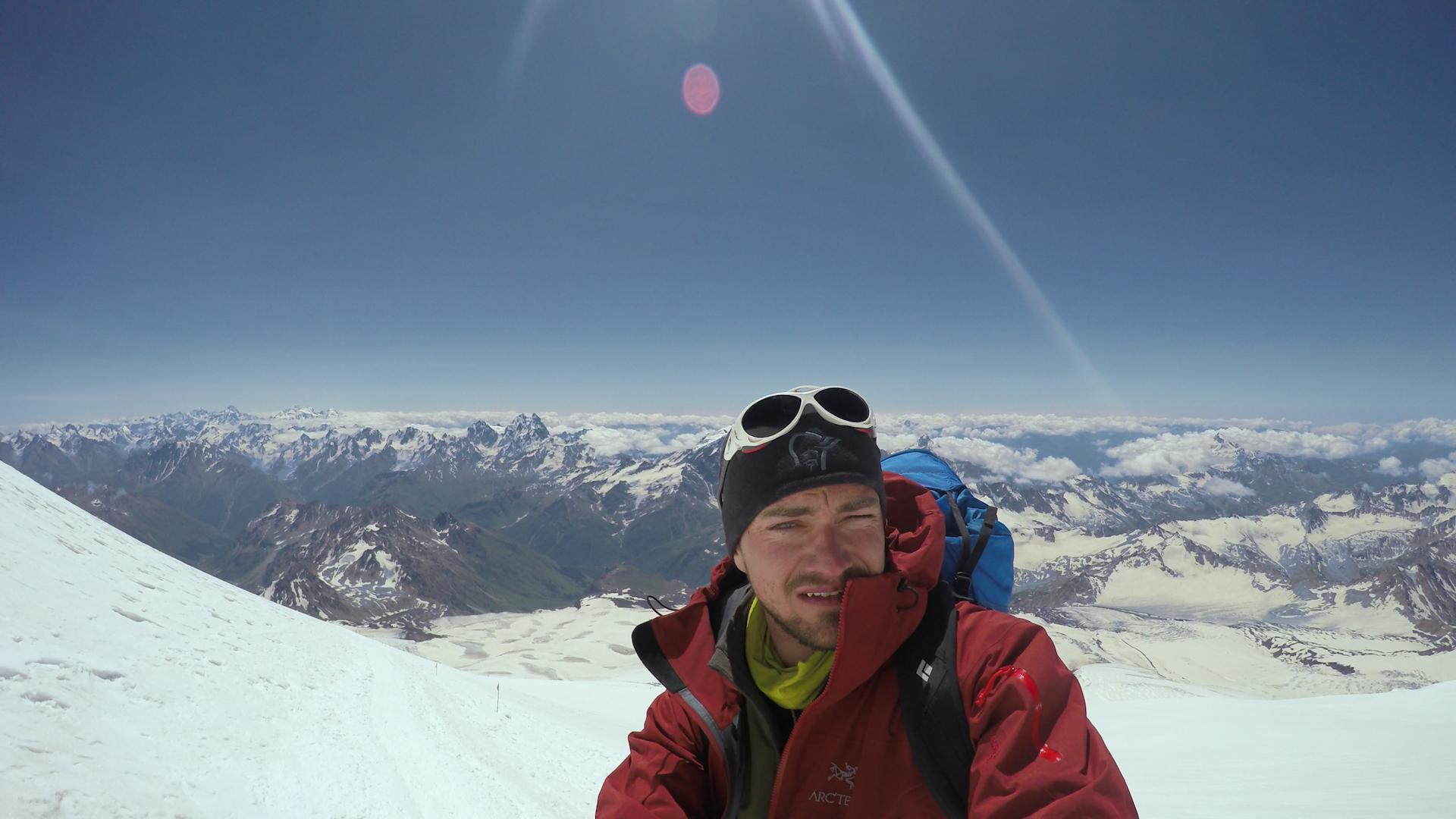 Yngsta norrmannen att bestiga 7 summits
