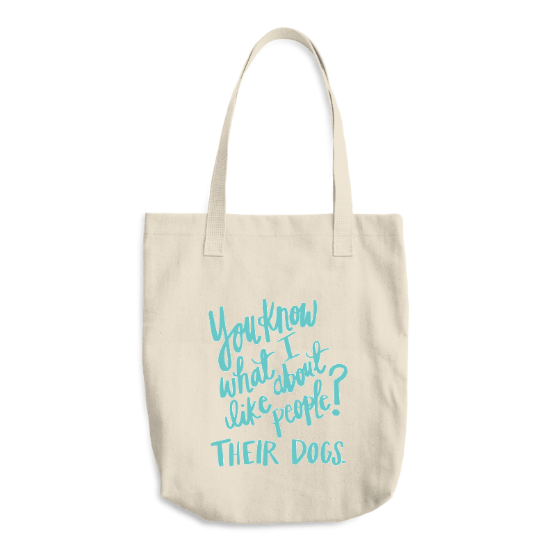 """You Know What I Like?"" Tote"