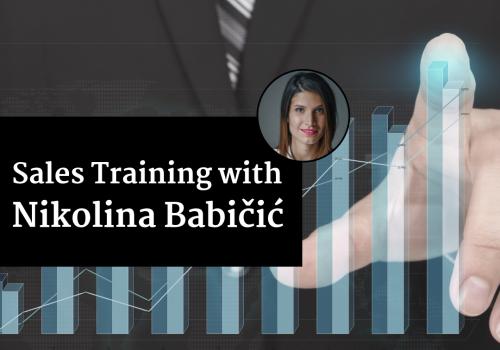Sales Training with Nikolina Babičić