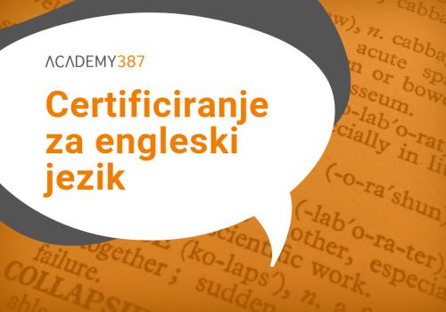 Certificiranje za engleski jezik