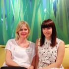 Christina Bergman i Linda Johansson