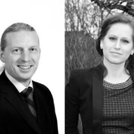 Magnus Ohlsson and Karolina Mileros