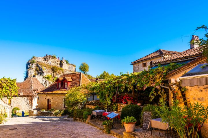 Rocamadour & St Cirq Lapopie Village Full Day Trip from Sarlat (private) image