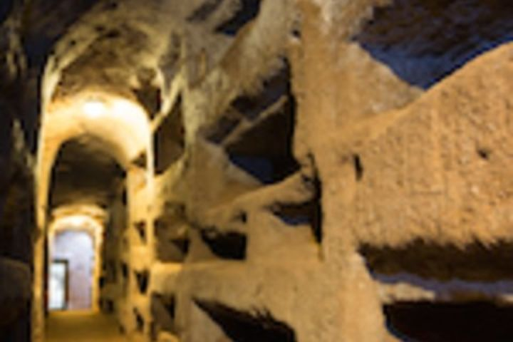 Private Underground Rome Tour inc Transportation: Ancient Catacombs and Secret Temples image