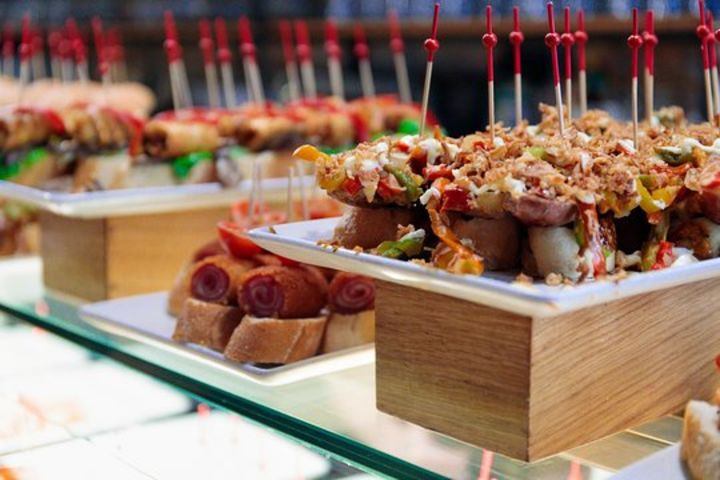 Dine Around Barcelona Food Tour with Montjuic Cable Car Ride image