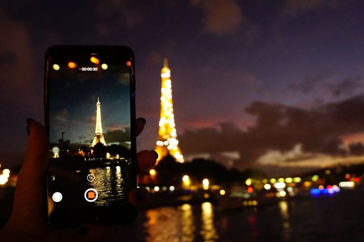 Paris by Night: Seine Cruise and Private Walking Tour image
