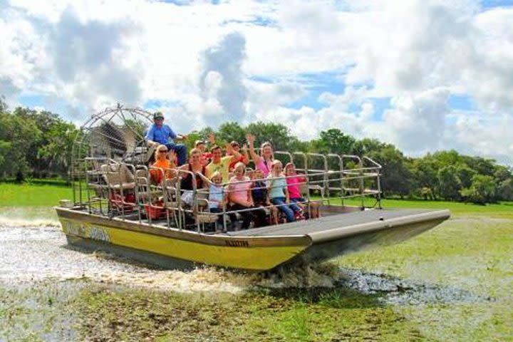 Airboat Ride with Transportation image