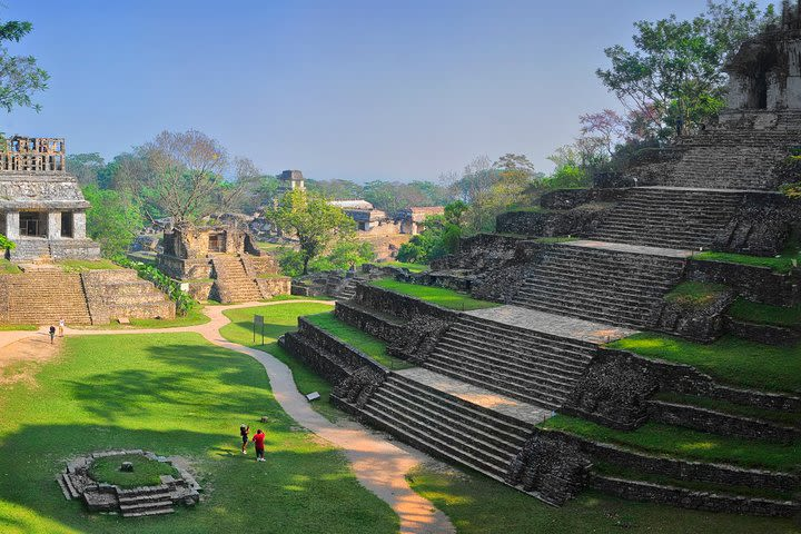 Full-Day Tour to Palenque, Agua Azul and Misol-Ha Waterfalls image