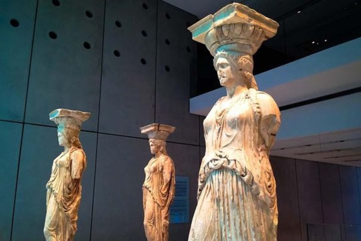 Ancient Athens Uncovered: Skip the Line New Acropolis Museum tour & Ancient Olympic Stadium image