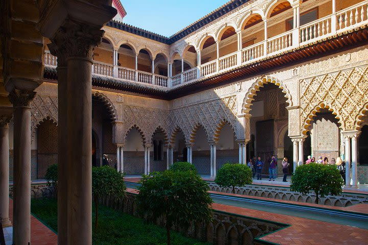 Alcazar of Seville Small Group Guided Tour image