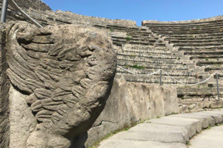 Day Excursion: Pompeii and Amalfi Coast Group Tour inc Transport image