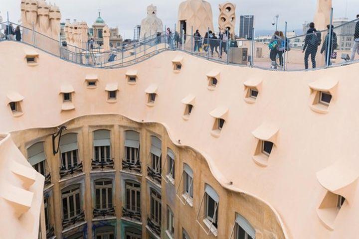 Barcelona in a Day: La Sagrada Família, Casa Milà, Historic Center & Cathedral Rooftop image