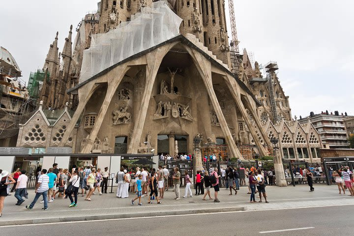 Park Guell and Sagrada Familia Shore Excursion from Barcelona Harbour image