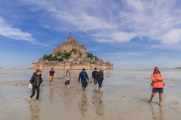 The Complete Small Group Paris to Mont St Michel Day Trip & Exclusive Bay Tour image