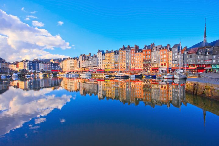 Honfleur, Beuvron en Auge village & Calvados tasting day trip from Bayeux (Private) image