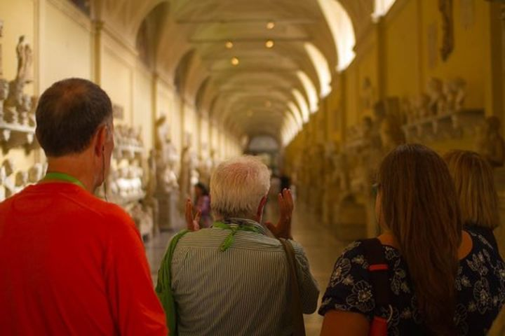 Small Group: Skip the Line Vatican at Night Tour with Sistine Chapel image