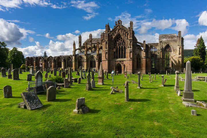 Day Trip from Edinburgh to Rosslyn Chapel, Melrose & the Borders image