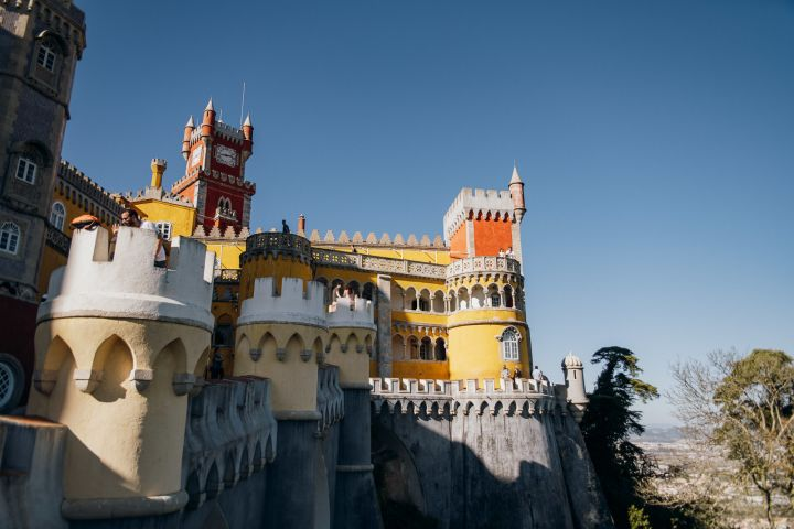 Sintra Fully Guided Tour with Pena Palace & Gardens and Quinta da Regaleira Upgrade image