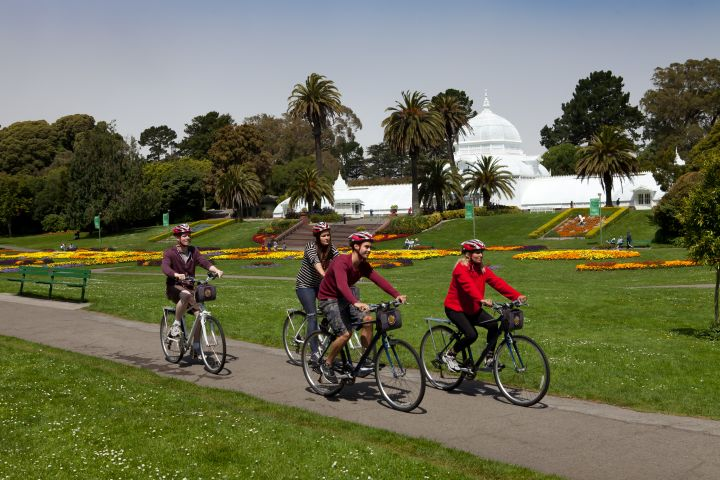 Golden Gate Park Guided Bike Tour image