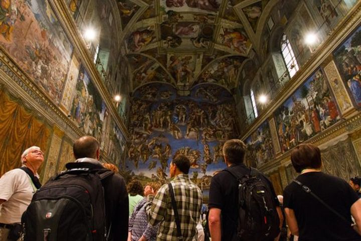 Early Entry Sistine Chapel & St Peter's Basilica Express Service image