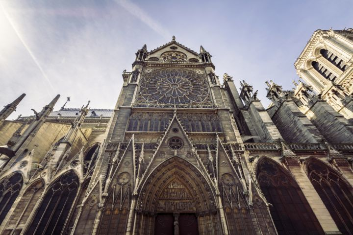 The Best of Paris Walking tour with Notre Dame, The Louvre & Seine River Cruise image