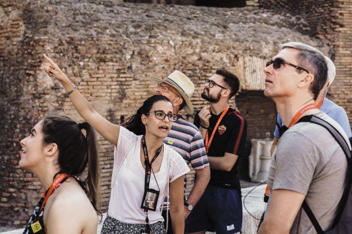 Skip the Line: Premium Colosseum Tour with Roman Forum & Palatine Hill image