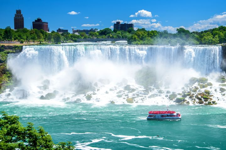Niagara Falls NY Day and Night Tour with Dinner image