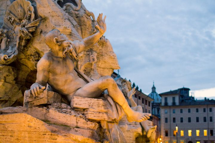 Welcome To Rome: Twilight City Stroll & Gelato-Tasting image