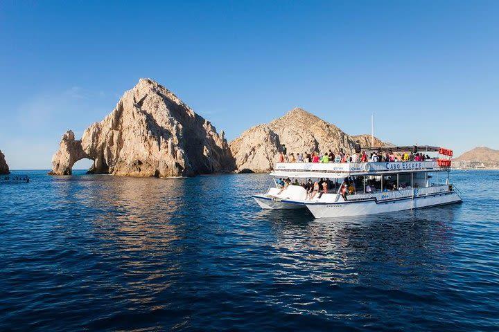 Marine Adventure in Catamaran and Snorkeling in Los Cabos image