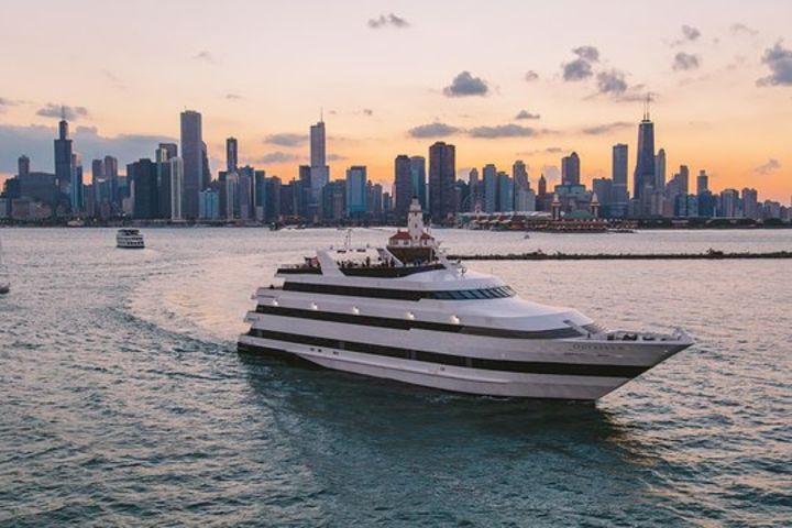 Chicago Odyssey Lake Michigan Fireworks Dinner Cruise image