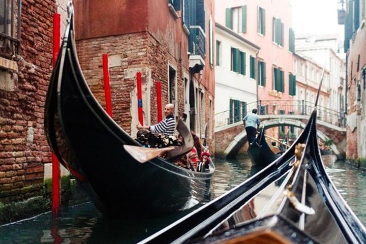Venice In a Day with St. Mark's Basilica, Doge's Palace & Gondola Ride image