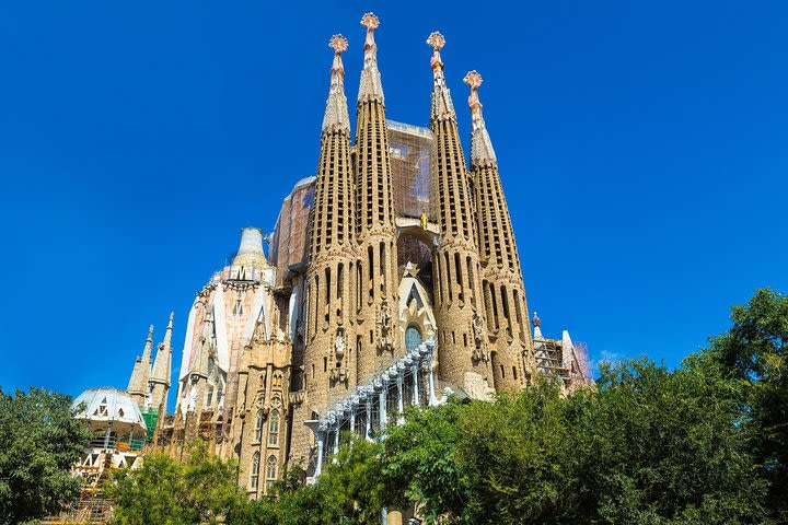 Montserrat Monastery and Sagrada Familia Tour with Liquor Tasting image